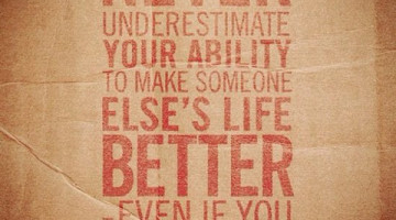 Attitude: Never Underestimate Your Ability
