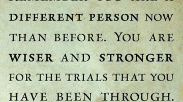 You are wiser and stronger