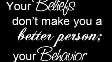 Beliefs: Your Beliefs Don't