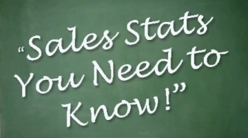 Sales: Sales Stats You Need To Know