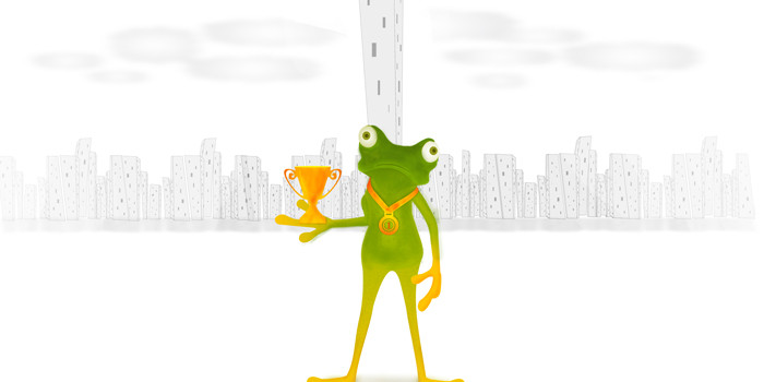 Belief: The Tiny Frog Race